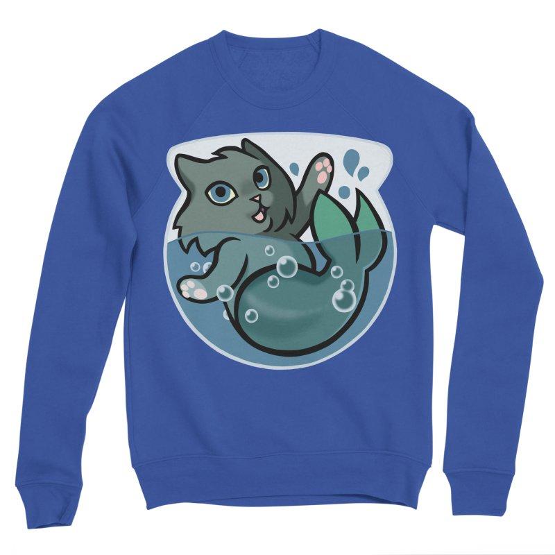 MerCat Men's Sweatshirt by The Art of Mirana Reveier