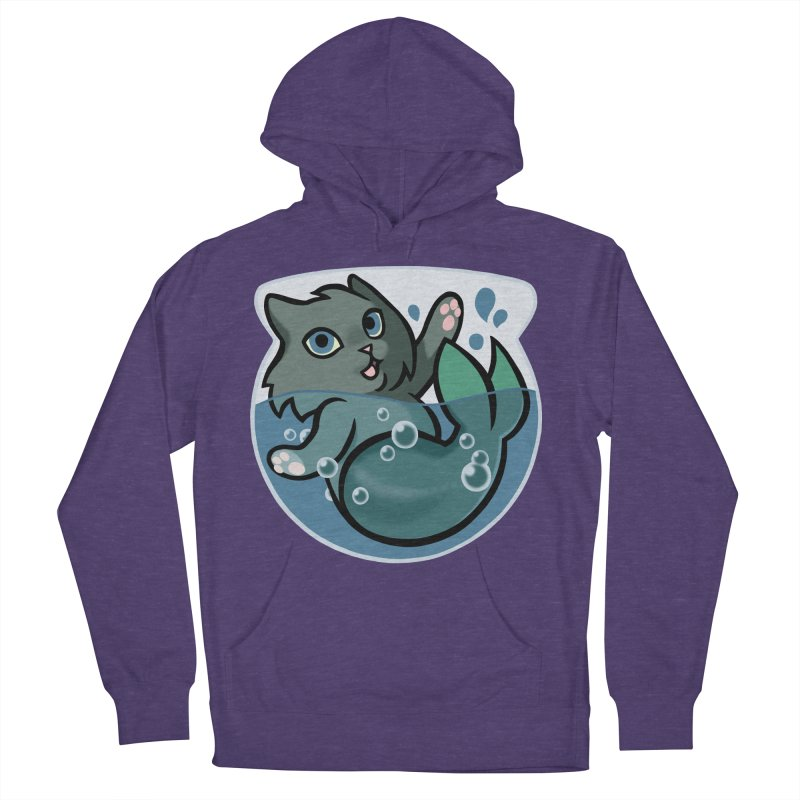 MerCat Men's French Terry Pullover Hoody by mirana's Artist Shop