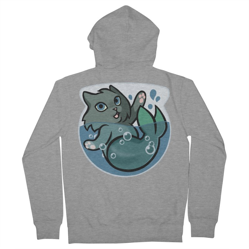 MerCat Men's Zip-Up Hoody by mirana's Artist Shop