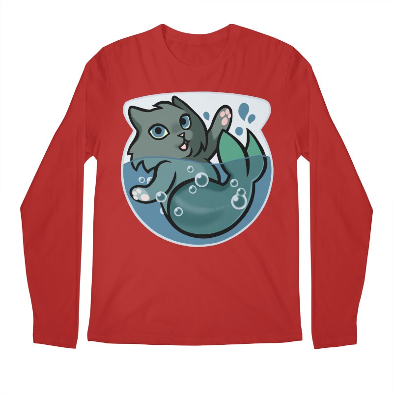 MerCat Men's Longsleeve T-Shirt by mirana's Artist Shop