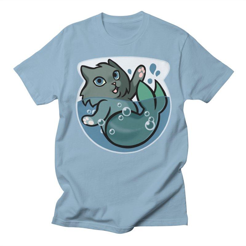 MerCat Men's Regular T-Shirt by mirana's Artist Shop