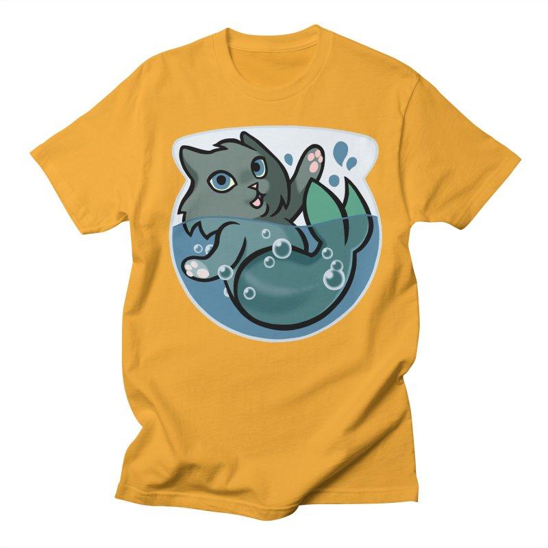 MerCat Men's T-shirt by mirana's Artist Shop