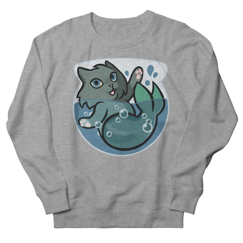 MerCat Women's Sweatshirt by mirana's Artist Shop