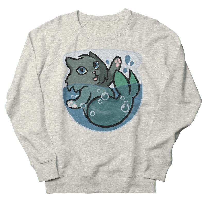 MerCat Women's Sweatshirt by mirana's Artist Shop