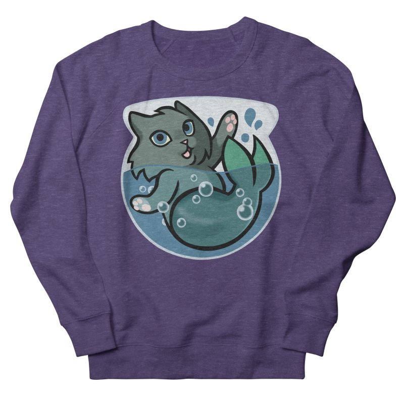 MerCat Men's Sweatshirt by mirana's Artist Shop