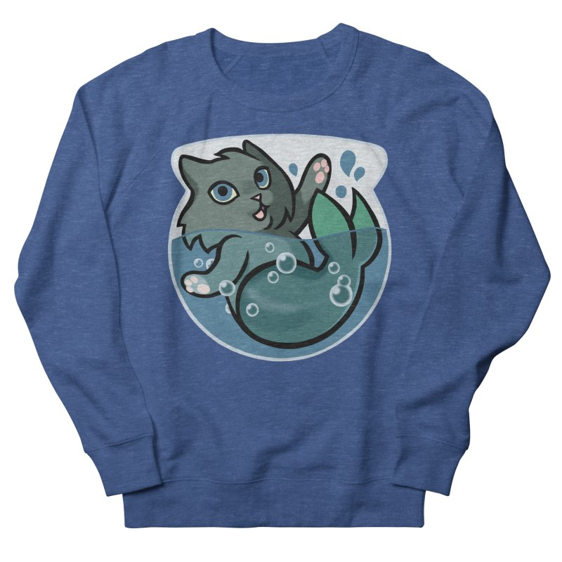 MerCat Men's Sweatshirt by The Art of Mirana Reveier