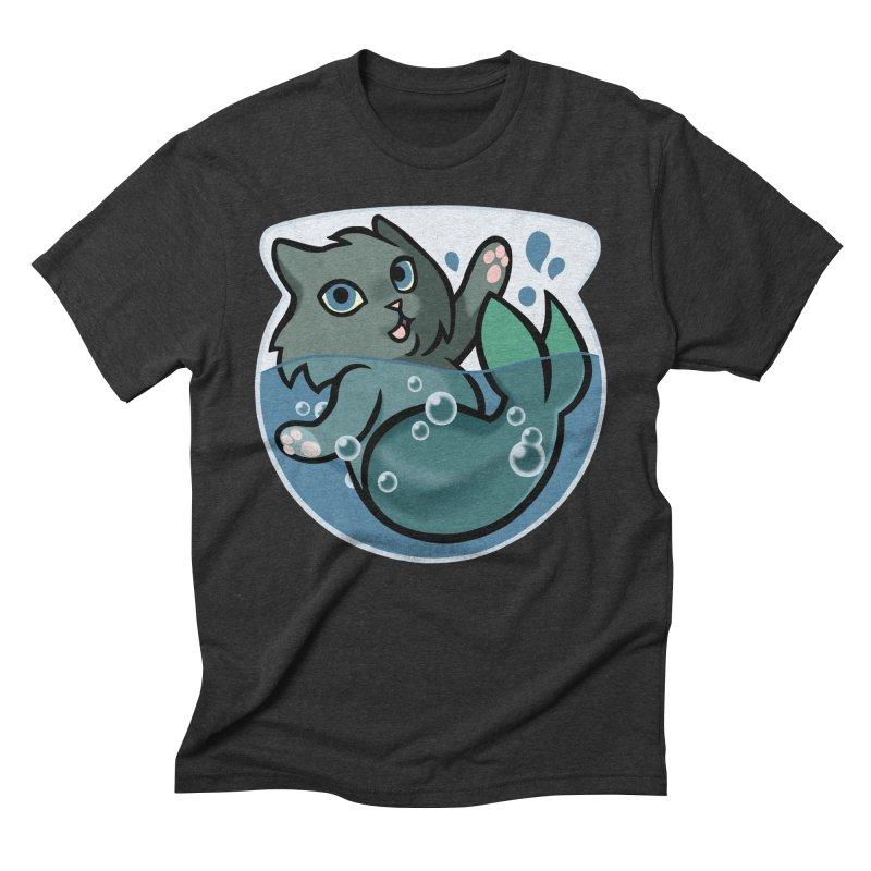 MerCat Men's Triblend T-Shirt by mirana's Artist Shop