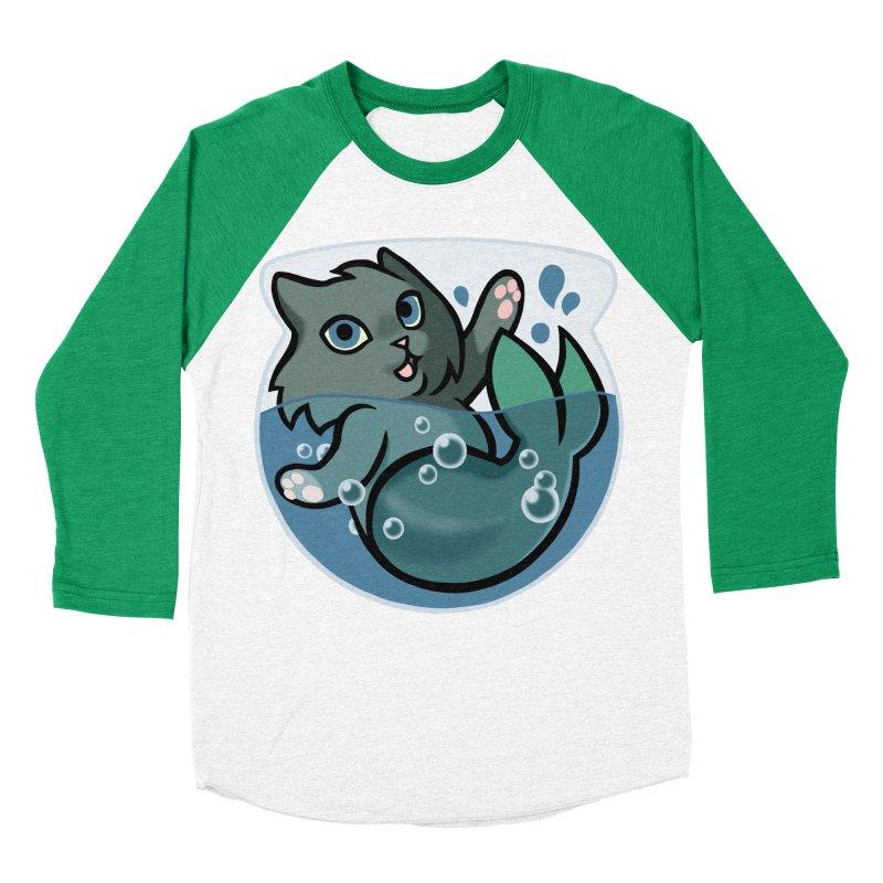 MerCat Women's Baseball Triblend Longsleeve T-Shirt by mirana's Artist Shop