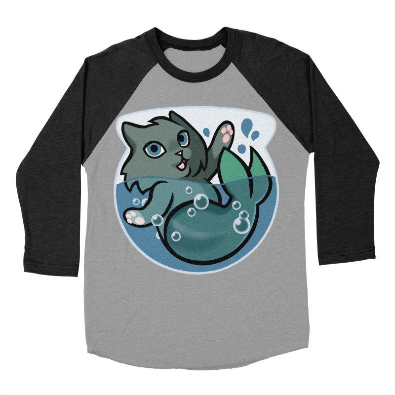 MerCat Men's Baseball Triblend Longsleeve T-Shirt by mirana's Artist Shop