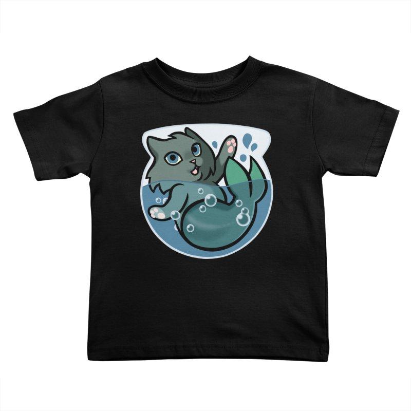 MerCat Kids Toddler T-Shirt by The Art of Mirana Reveier