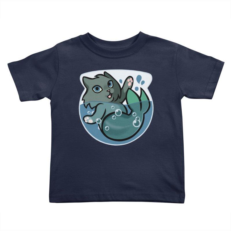 MerCat Kids Toddler T-Shirt by mirana's Artist Shop