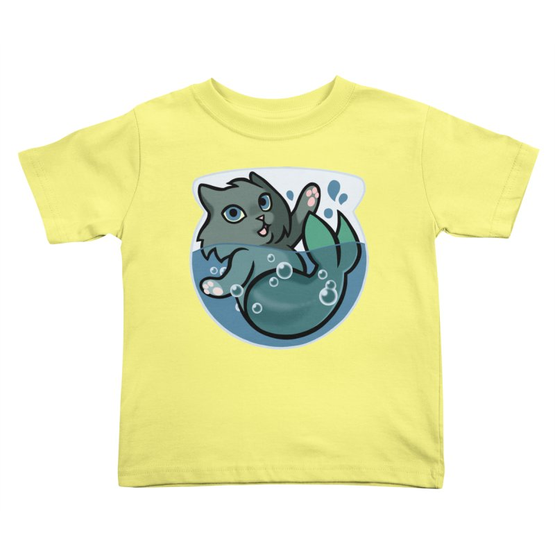 MerCat Kids Toddler T-Shirt by mirana's Artist Shop