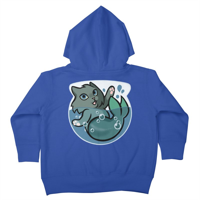 MerCat Kids Toddler Zip-Up Hoody by mirana's Artist Shop