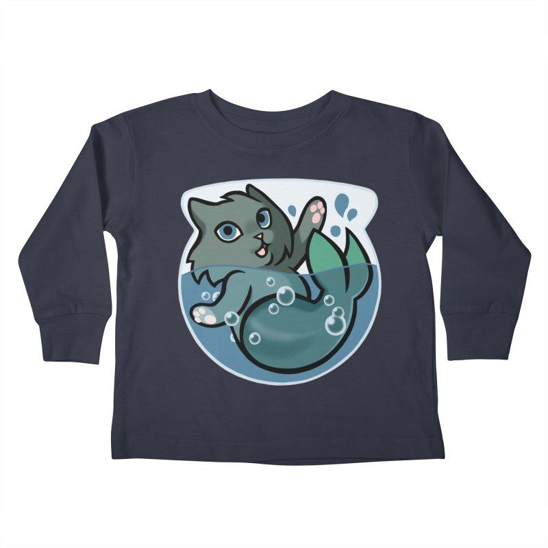 MerCat Kids Toddler Longsleeve T-Shirt by mirana's Artist Shop