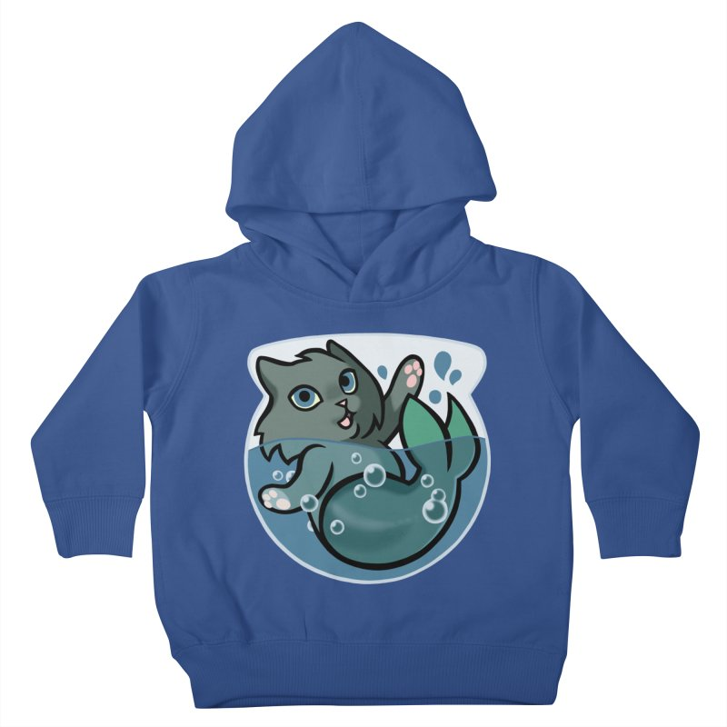 MerCat Kids Toddler Pullover Hoody by mirana's Artist Shop