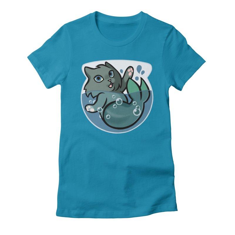 MerCat Women's T-Shirt by The Art of Mirana Reveier