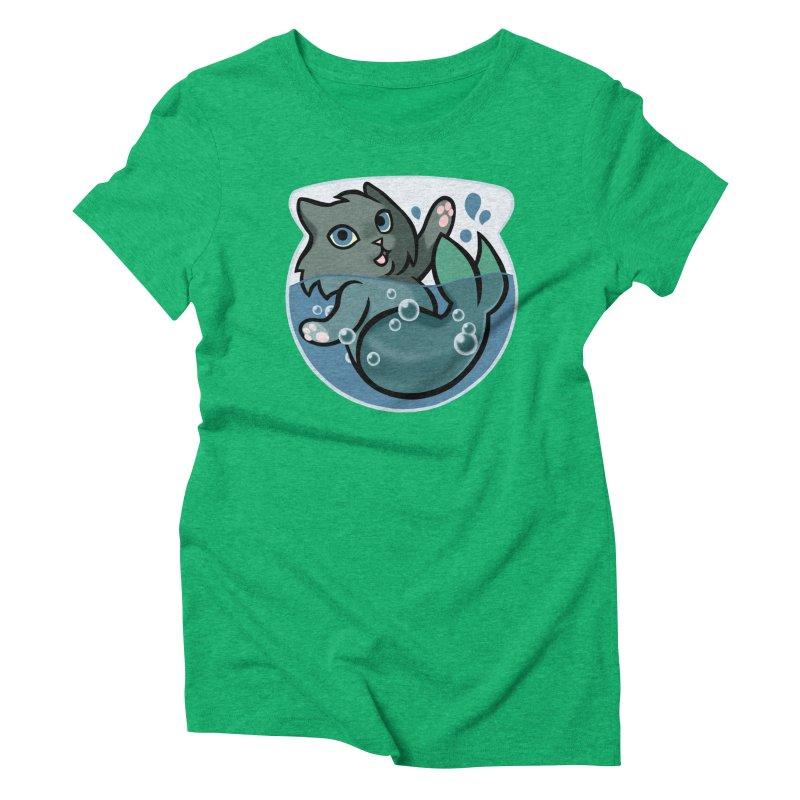 MerCat Women's Triblend T-Shirt by mirana's Artist Shop