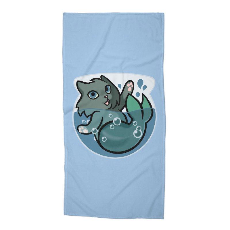 MerCat Accessories Beach Towel by The Art of Mirana Reveier