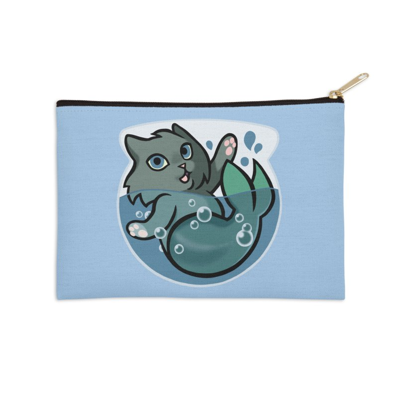 MerCat Accessories Zip Pouch by mirana's Artist Shop