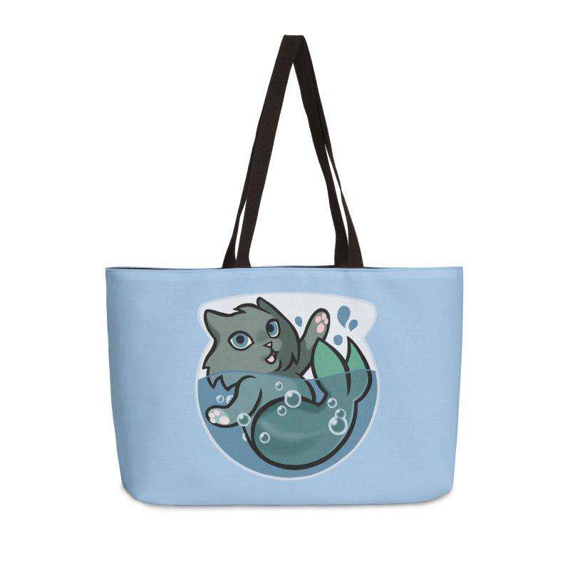 MerCat Accessories Weekender Bag Bag by mirana's Artist Shop
