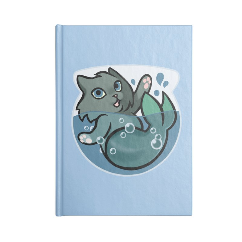 MerCat Accessories Notebook by mirana's Artist Shop