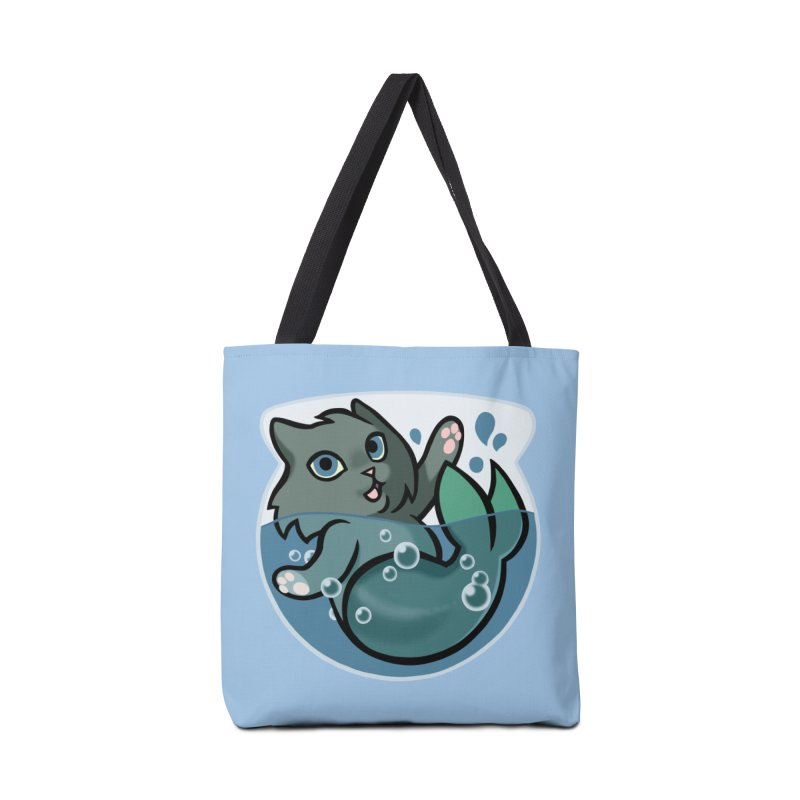 MerCat Accessories Tote Bag Bag by mirana's Artist Shop