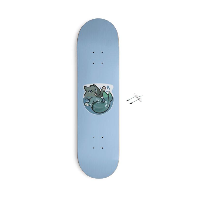 MerCat Accessories Skateboard by The Art of Mirana Reveier