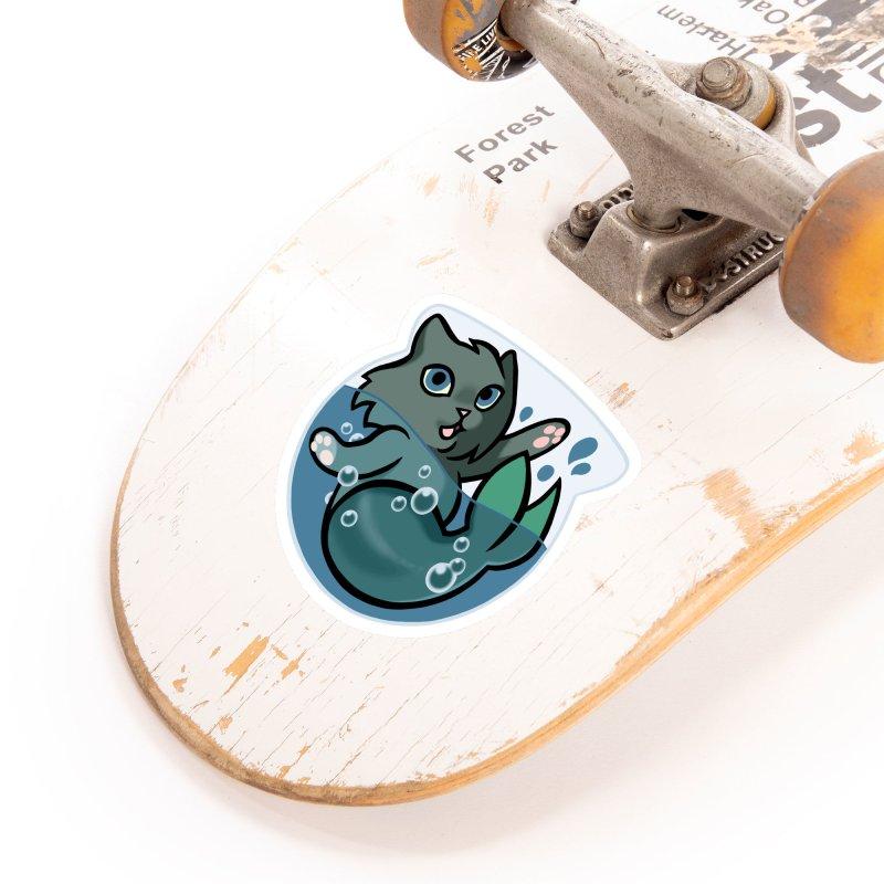 MerCat Accessories Sticker by The Art of Mirana Reveier
