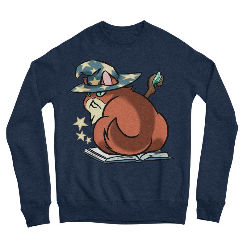 Wizard Cat Men's Sweatshirt by The Art of Mirana Reveier