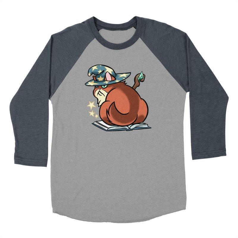 Wizard Cat Men's Longsleeve T-Shirt by The Art of Mirana Reveier