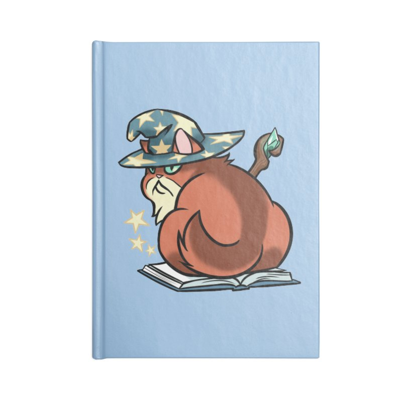 Wizard Cat Accessories Notebook by The Art of Mirana Reveier