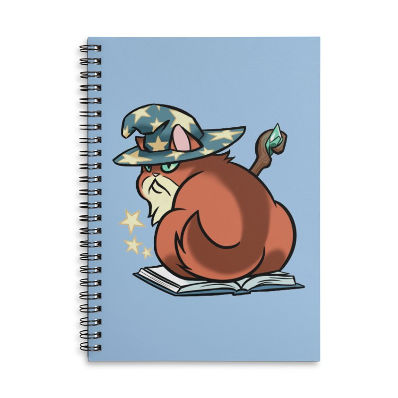 Wizard Cat Accessories Notebook by The Art of Mirana Reveier