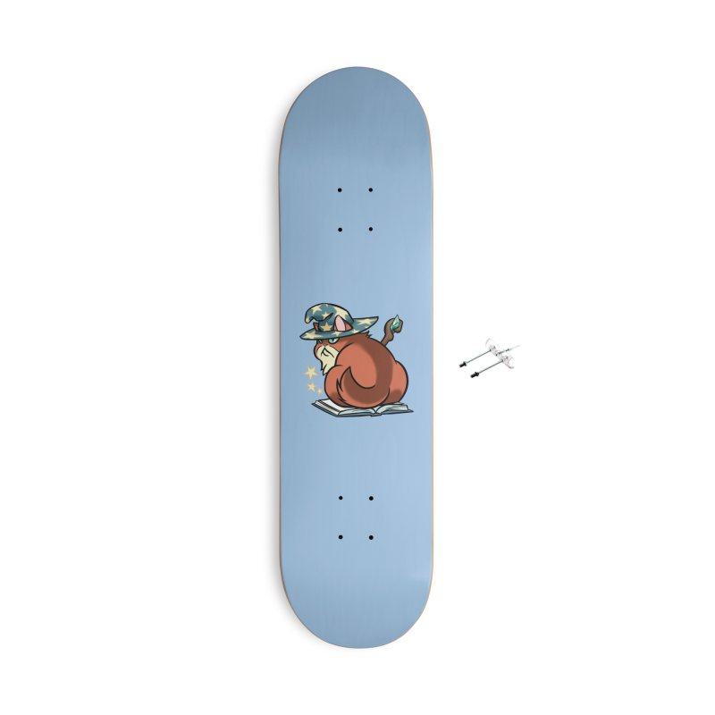 Wizard Cat Accessories Skateboard by The Art of Mirana Reveier