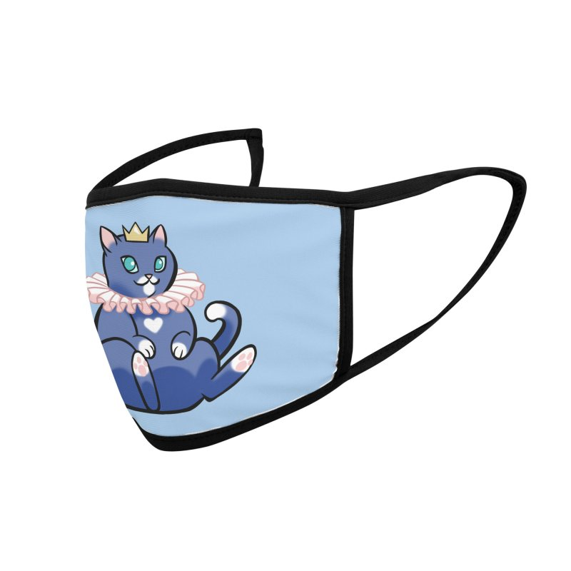 King Cat Accessories Face Mask by The Art of Mirana Reveier