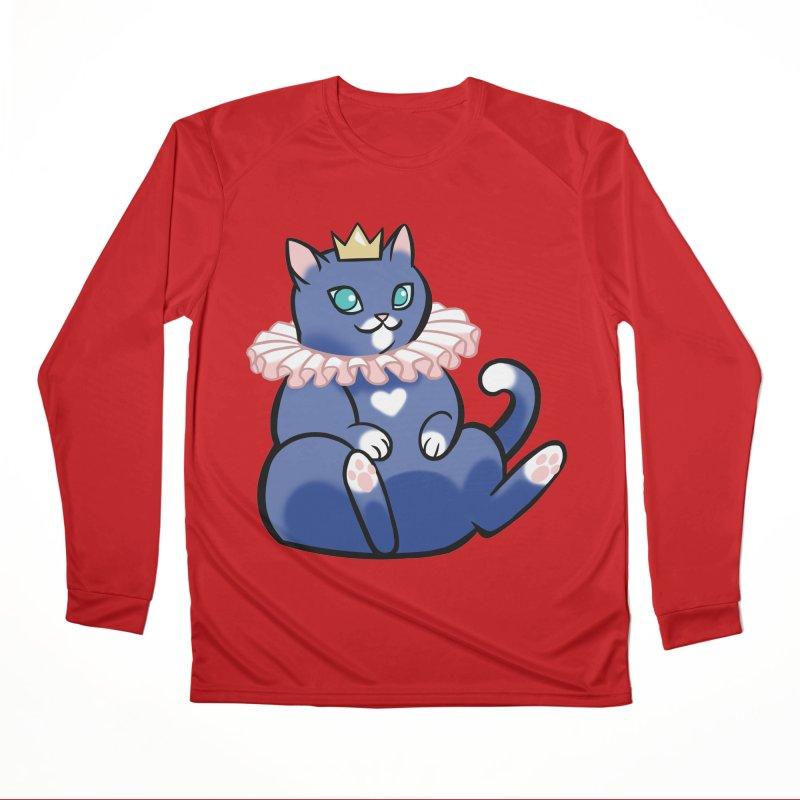 King Cat Women's Longsleeve T-Shirt by The Art of Mirana Reveier