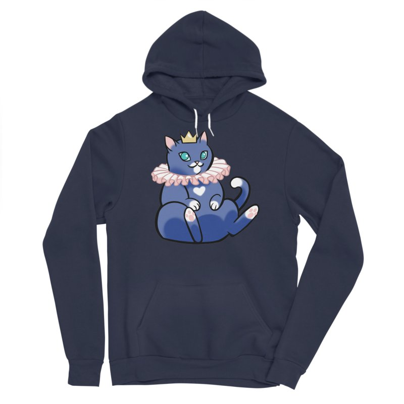 King Cat Men's Pullover Hoody by The Art of Mirana Reveier