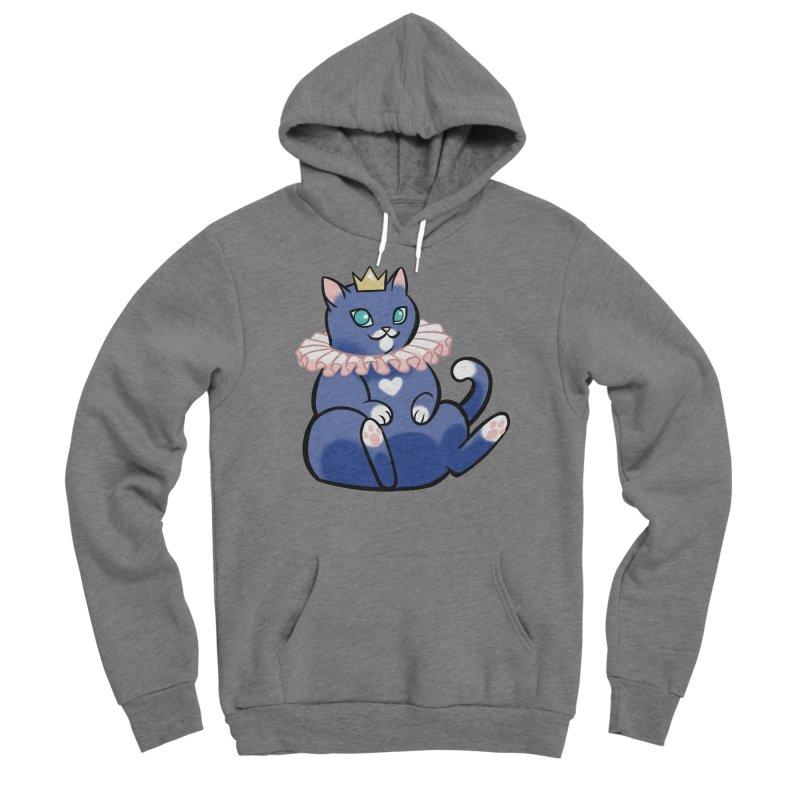 King Cat Men's Pullover Hoody by The Art of Mirana Reveier