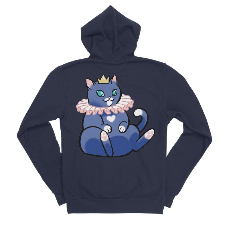 King Cat Men's Zip-Up Hoody by The Art of Mirana Reveier