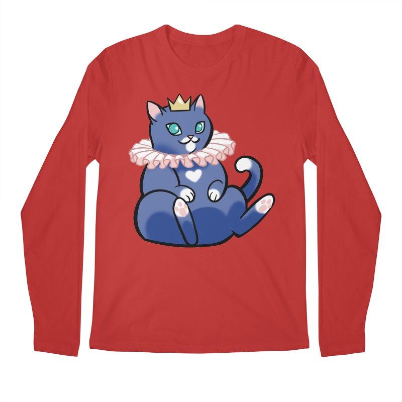 King Cat Men's Longsleeve T-Shirt by The Art of Mirana Reveier