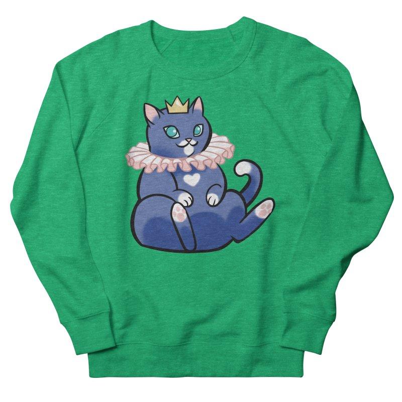 King Cat Women's Sweatshirt by The Art of Mirana Reveier