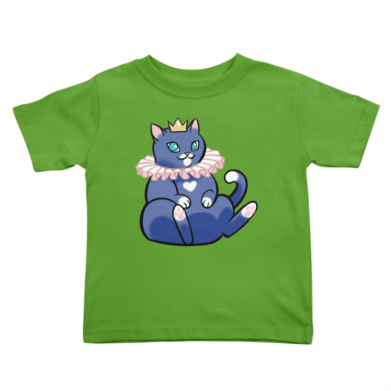 King Cat Kids Toddler T-Shirt by The Art of Mirana Reveier