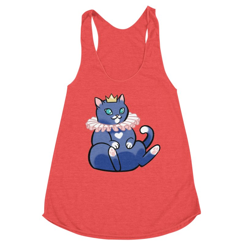 King Cat Women's Tank by The Art of Mirana Reveier