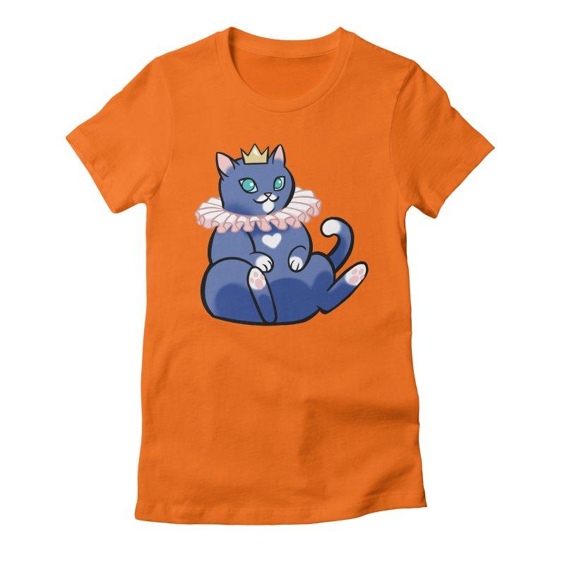 King Cat Women's T-Shirt by The Art of Mirana Reveier