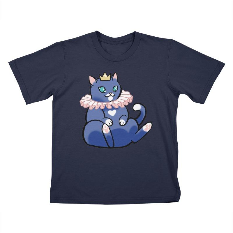King Cat Kids T-Shirt by The Art of Mirana Reveier