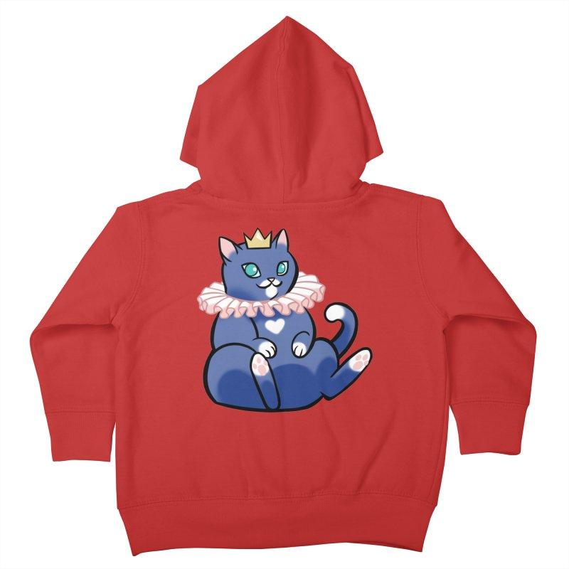 King Cat Kids Toddler Zip-Up Hoody by The Art of Mirana Reveier
