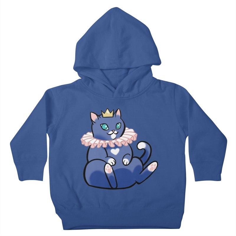 King Cat Kids Toddler Pullover Hoody by The Art of Mirana Reveier