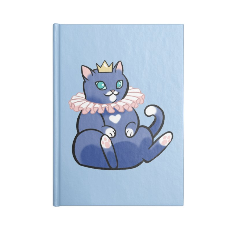King Cat Accessories Notebook by The Art of Mirana Reveier