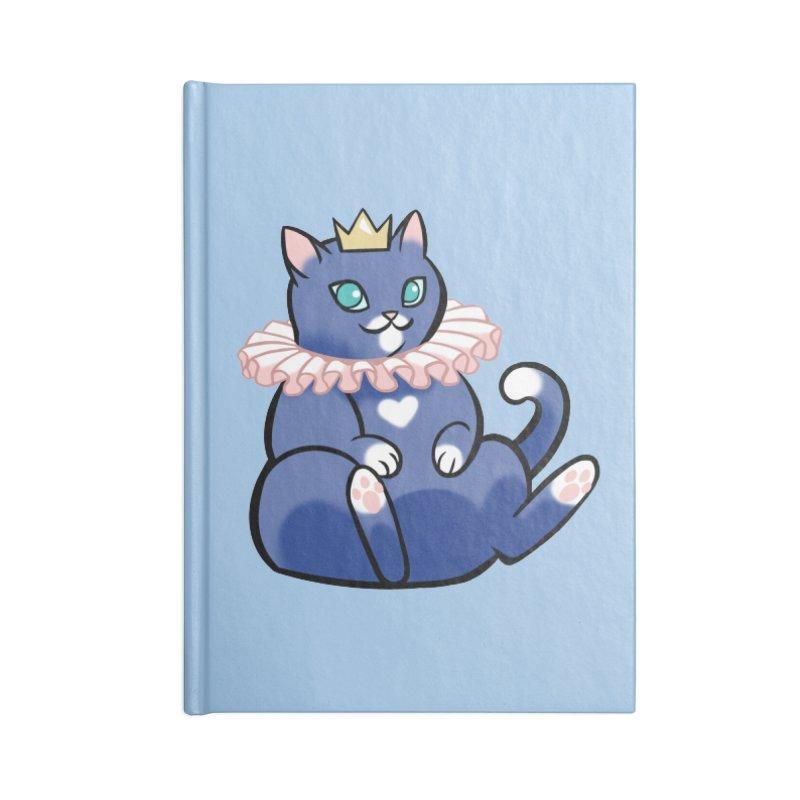 King Cat Accessories Notebook by The Art of Mirana Reveier