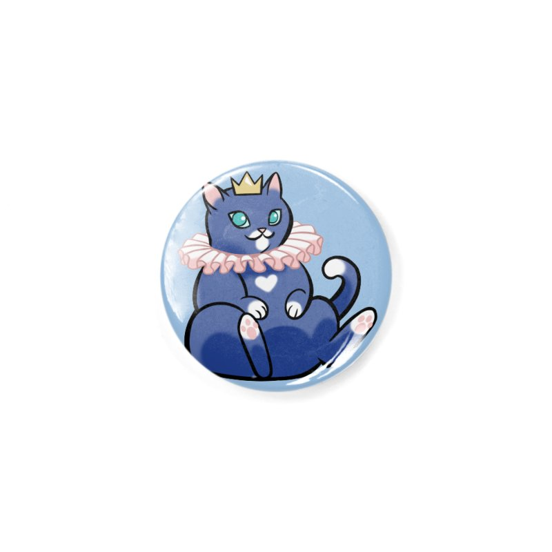 King Cat Accessories Button by The Art of Mirana Reveier