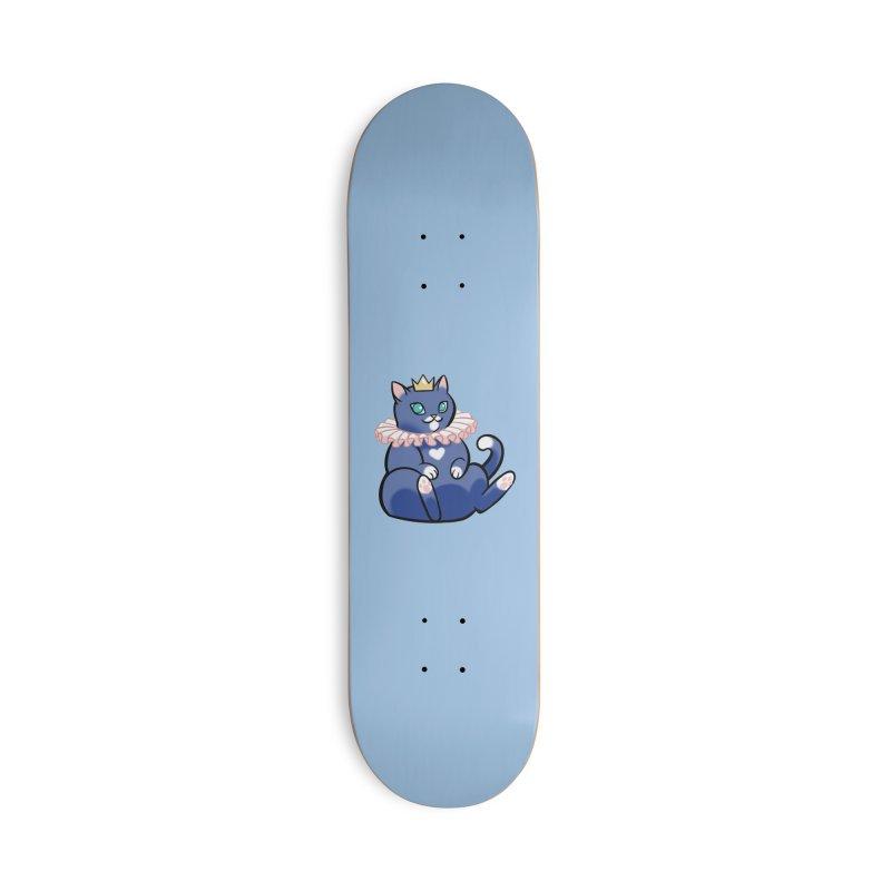 King Cat Accessories Skateboard by The Art of Mirana Reveier
